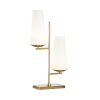 This item: Gold Two-Light 11-Inch Geminate Lamp