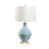 This item: Blue and Off White One-Light 6-Inch Skylar Lamp
