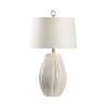 This item: Off White One-Light 6-Inch Borghese Lamp