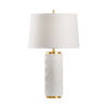 This item: Off White One-Light 6-Inch Mountain Pine Lamp