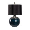 This item: Black One-Light 16-Inch Dark Knight Lamp