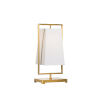 This item: Gold One-Light 10-Inch Belle Meade Lamp