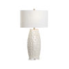 This item: Off White One-Light 8-Inch Hapuna Lamp