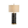 This item: Oatmeal and Black One-Light 8-Inch Department 11 Lamp