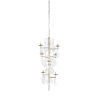 This item: Silver Eight-Light 28-Inch Liza Chandelier