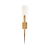 This item: Cream and Gold One-Light 5-Inch Laguna Sconce