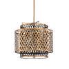 This item: Gold Three-Light 22-Inch Sabine Chandelier