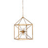 This item: Gold Six-Light 17-Inch Portsmith Chandelier