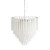 This item: White Nine-Light 25-Inch Fenning Chandelier