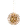 This item: White and Gold 10-Light 20-Inch Lolita Chandelier