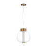 This item: Gold One-Light 13-Inch Brooklyn Pendant
