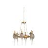 This item: Brass Six-Light 33-Inch Aiden Chandelier