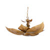 This item: Gold Six-Light 32-Inch Naples Palm Chandelier (Lg)