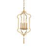 This item: Gold Four-Light 13-Inch Odaslisque Lantern