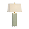 This item: Green One-Light Becker Vase Lamp