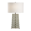 This item: Nickel One-Light Oval Lamp