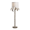 This item: Bradshaw Orrell White Wash One-Light Palm Floor Lamp