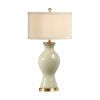 This item: Light Taupe One-Light 10-Inch Classic Vase Lamp