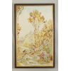 This item: Antique Gold and Brown Aubusson Panel - B Wall Art