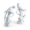 This item: White Parrot Figurine