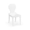 This item: White 17-Inch Chair