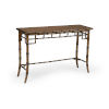 This item: Dark Brown Bamboo Console Table