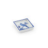 This item: Blue and White Square Bird Tray