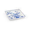 This item: Blue and White Bird Square Tray