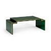 This item: Chatsworth Malachite with Gold Coffee Table