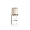 This item: Ragsdale Rusticated White and Silver Candle Holder