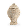 This item: Cream Shell Covered Urn