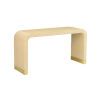 This item: Cream Waterfall Console Table