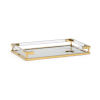 This item: Antique Brass 20-Inch Tray