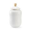 This item: Panji Matte White Nine-Inch Vase