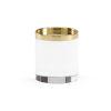 This item: Nickel Three-Inch Round Crystal Plinth