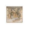 This item: Brown Chinoiserie Panel Wall Art