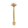 This item: Antique Gold 26-Inch Palm Tree