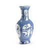 This item: Blue and White 11-Inch Vase