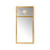 This item: Trumeau Antique Gold Wall Mirror