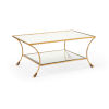 This item: Kendal Gold 44-Inch Coffee Table