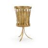 This item: Curtis Antique Gold Fern Planter