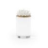 This item: White Four-Inch Succulent Sculpture