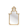 This item: Antique Gold Small Pagoda Wall Mirror