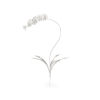 This item: Silver Orchid Stem Home Decor