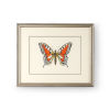 This item: Antique Silver Butterfly I Wall Art