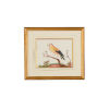 This item: Yellow Wing Bird Red Berry Wall Art