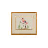 This item: Pink and Blue Berries Wall Art