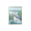 This item: Silver Marsh Heron II Wall Art