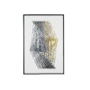 This item: Silver and Gold Foil Stripes Wall Art