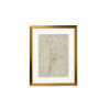 This item: Gold Foil Ink Study IV Wall Art